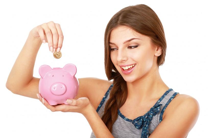 Ahorro de cheques adulto joven