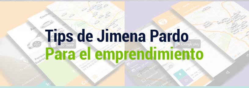 Tips de Jimena Pardo para el emprendimiento